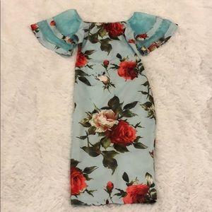 Women's off the shoulder dress